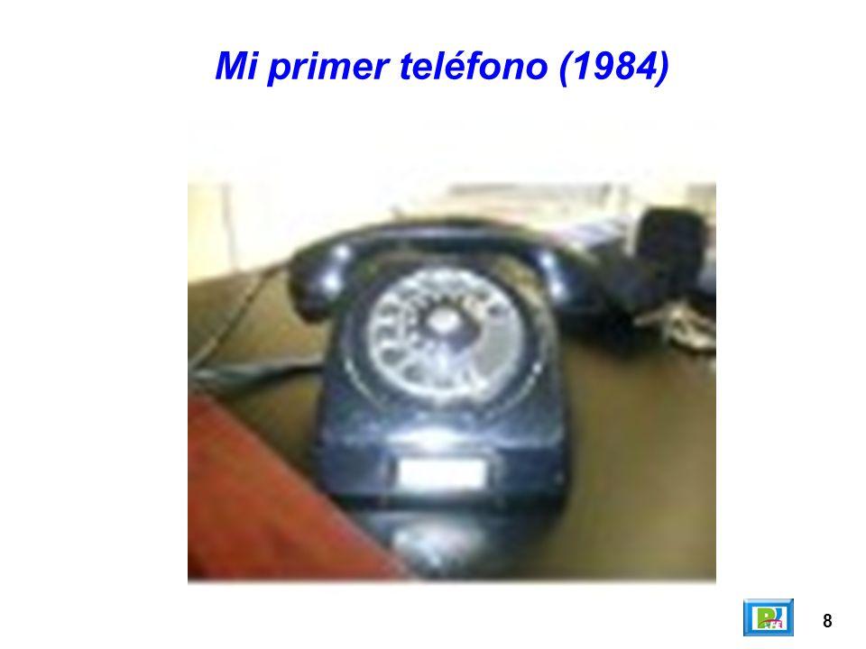 8 Mi primer teléfono (1984)