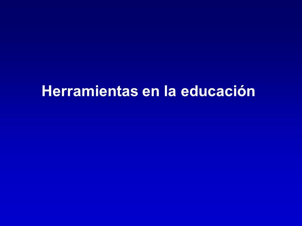 Herramientas en la educación