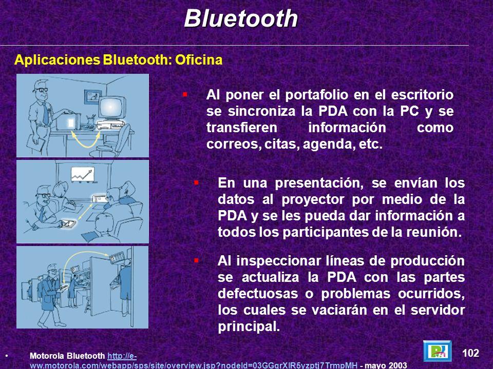 Motorola - Bluetooth 101 Motorola http://www.motorola.com - noviembre 2002http://www.motorola.com