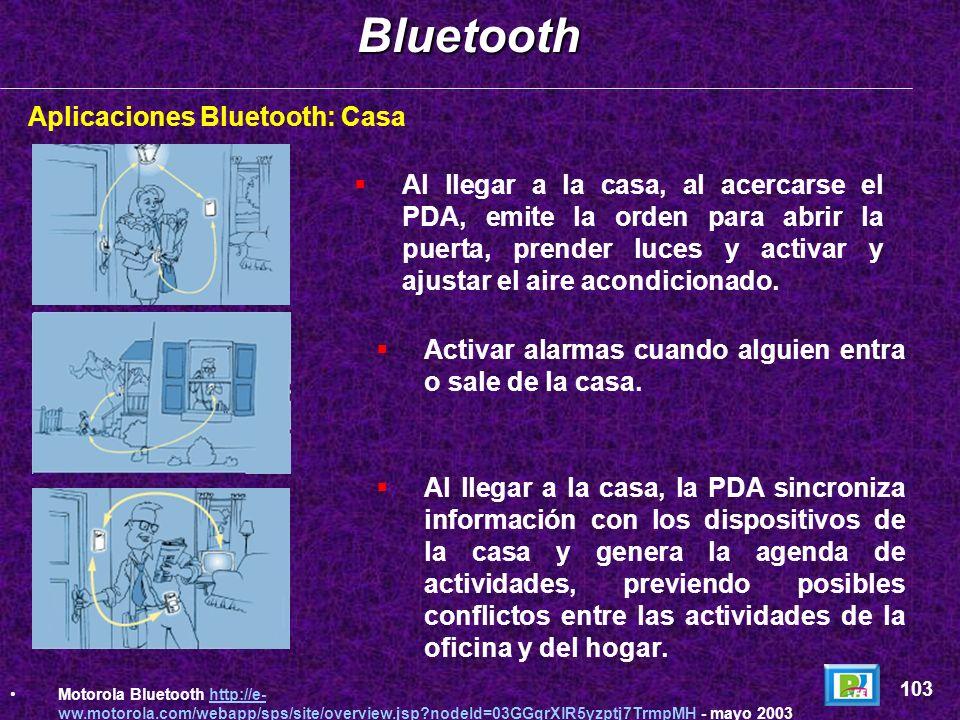 Aplicaciones Bluetooth: OficinaBluetooth 102 Motorola Bluetooth http://e- ww.motorola.com/webapp/sps/site/overview.jsp?nodeId=03GGqrXlR5yzptj7TrmpMH -