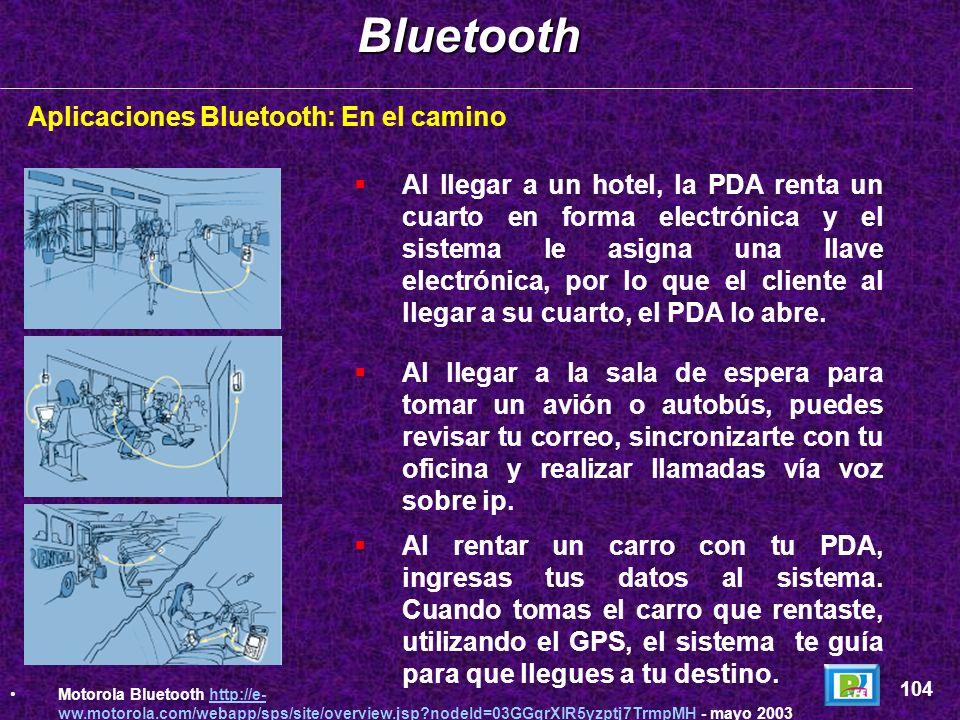 Aplicaciones Bluetooth: CasaBluetooth 103 Motorola Bluetooth http://e- ww.motorola.com/webapp/sps/site/overview.jsp?nodeId=03GGqrXlR5yzptj7TrmpMH - ma