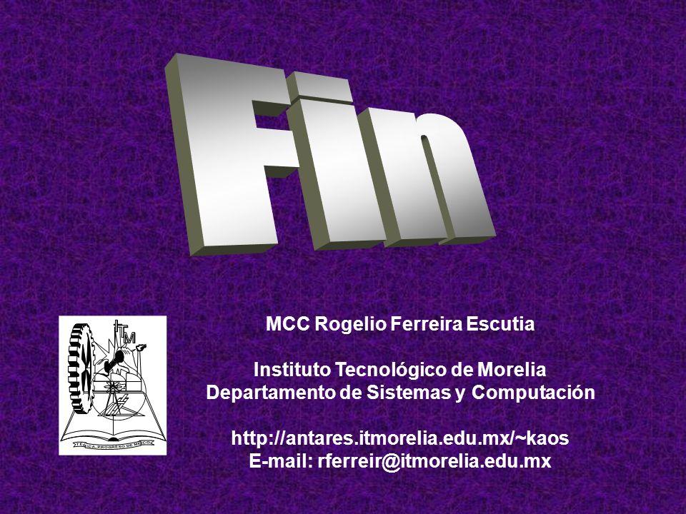 IF ((Trabajo = Me Gusta) AND (Trabajo = Lo Conozco) AND (Trabajo = Dinero)) THEN Vida = Felicidad Algoritmo 108