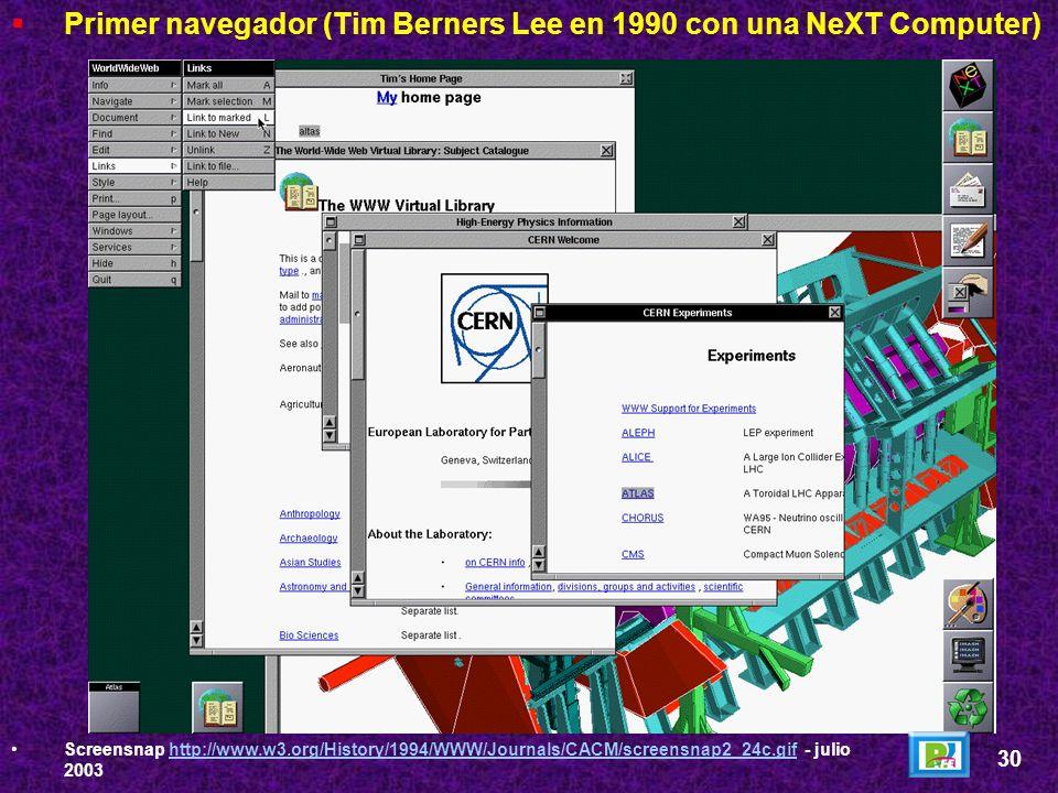 En 1960 Doug Engelbart inventa el primer sistema de hipertexto y para ello inventa el mouse. Ted Nelson acuña la frase Hipertexto en 1965. Tim Berners