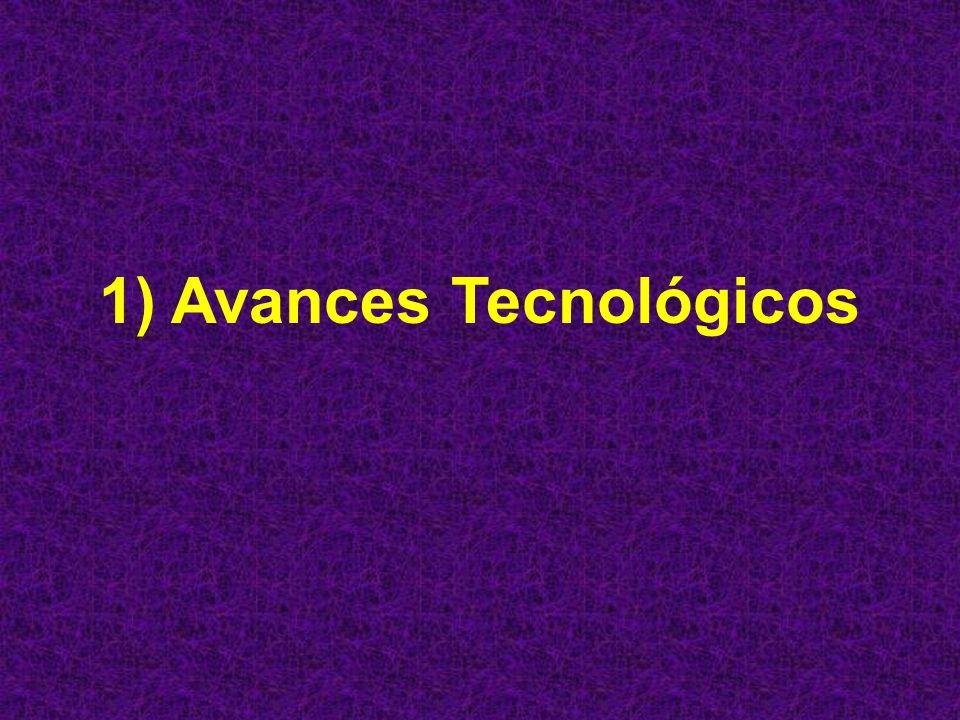 Contenido 1) Avances Tecnológicos 2) Internet 3) Tecnología Web 4) Tipos de Páginas Web 5) Dispositivos y Tecnología Web Inalámbrica