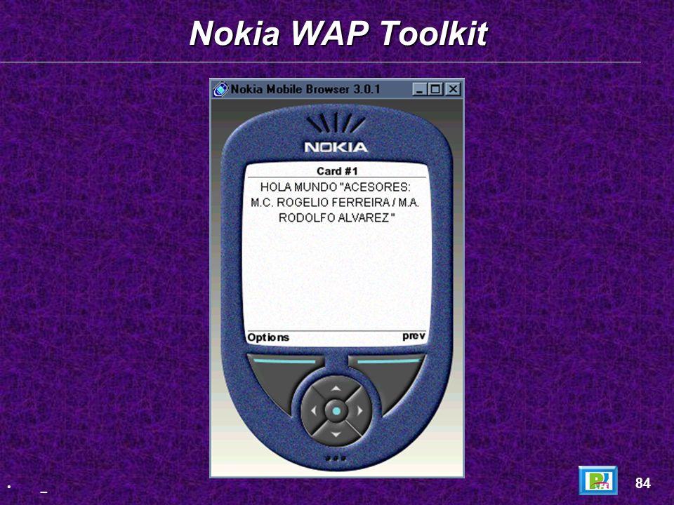 Página HTML: Página HTML: Proyecto WML 83 _