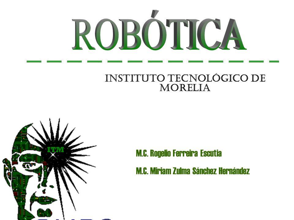 Robots manipuladores (brazos).Robots móviles. Robots híbridos (móviles con manipulación).