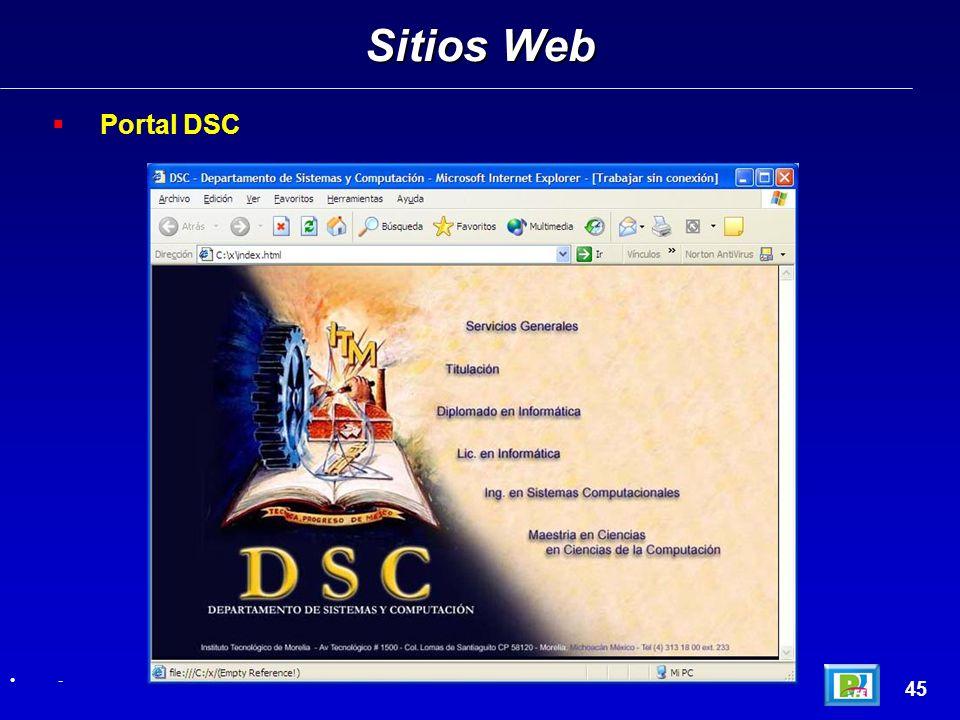 Portal DSC Sitios Web 45 -