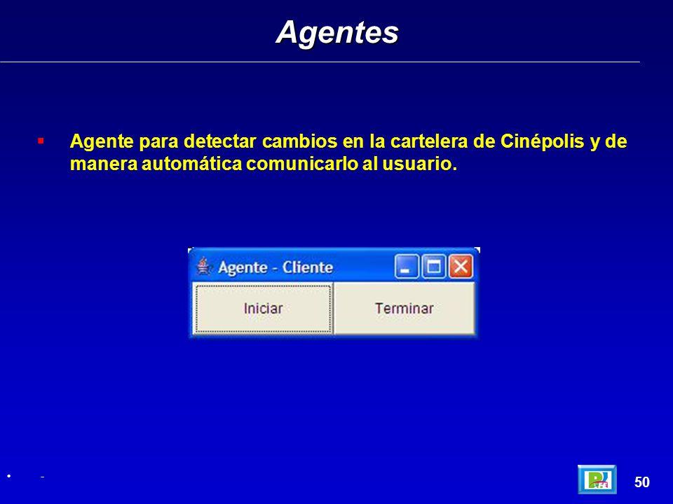Agente para detectar cambios en la cartelera de Cinépolis y de manera automática comunicarlo al usuario.