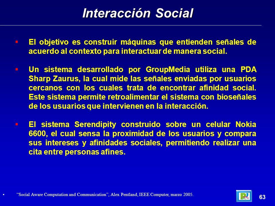 El objetivo es construir máquinas que entienden señales de acuerdo al contexto para interactuar de manera social.