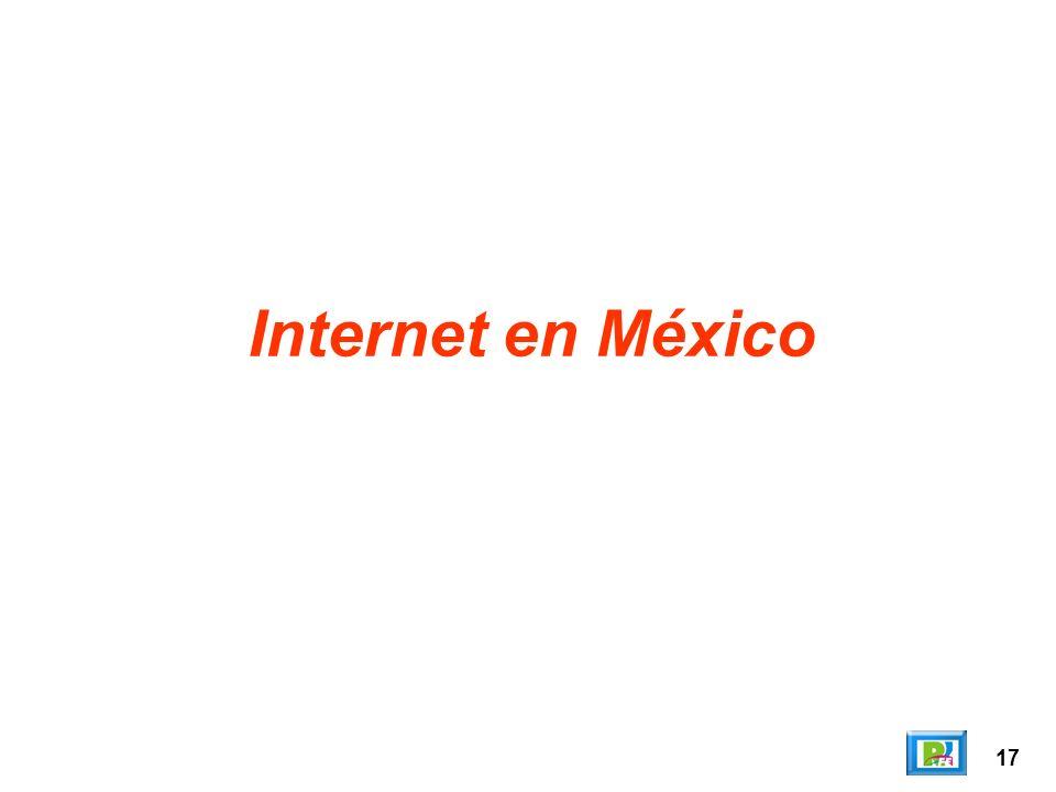 Internet en México 17