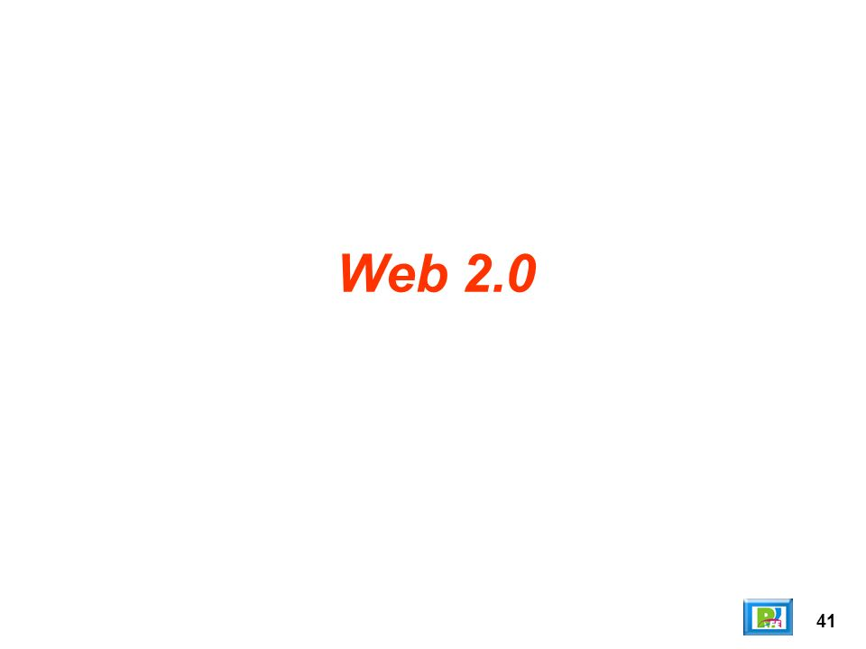 Web 2.0 41