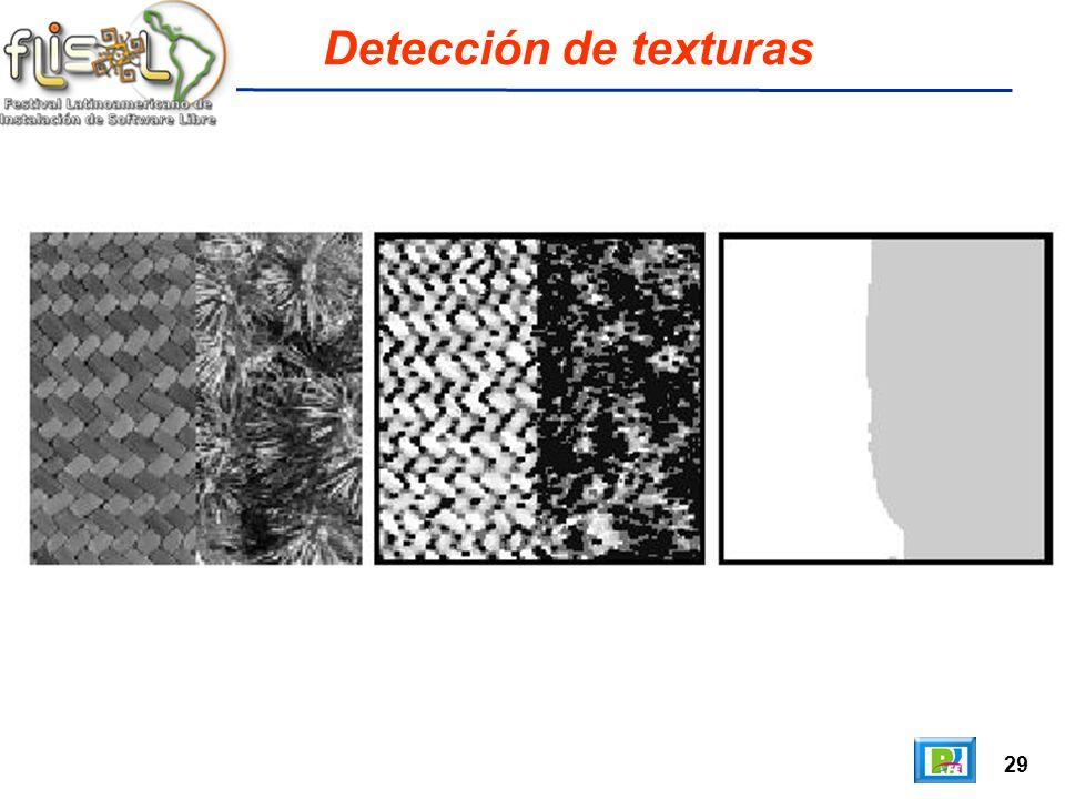 29 Detección de texturas