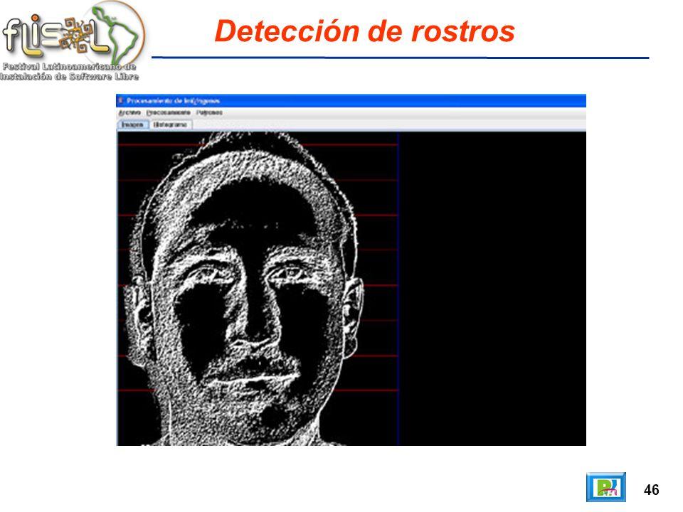 46 Detección de rostros