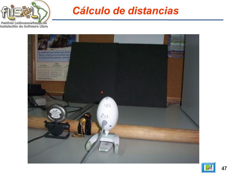 47 Cálculo de distancias