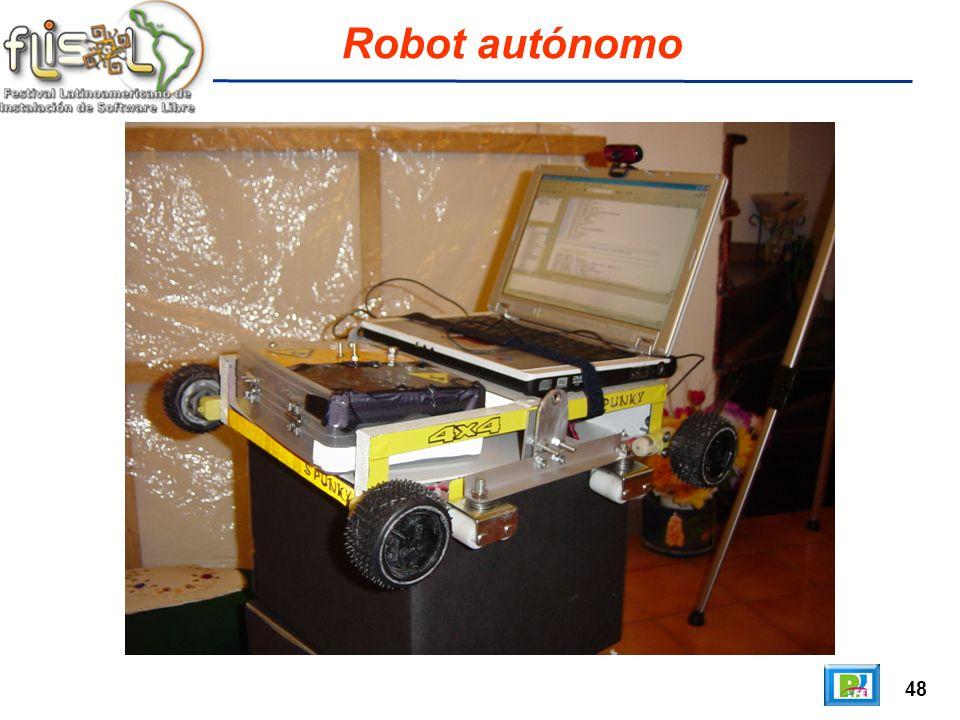 48 Robot autónomo