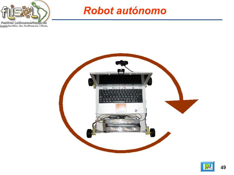 49 Robot autónomo