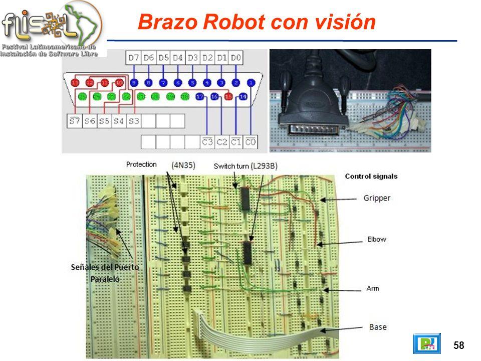 58 Brazo Robot con visión