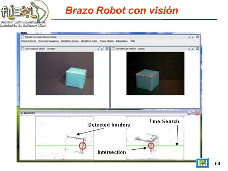 59 Brazo Robot con visión
