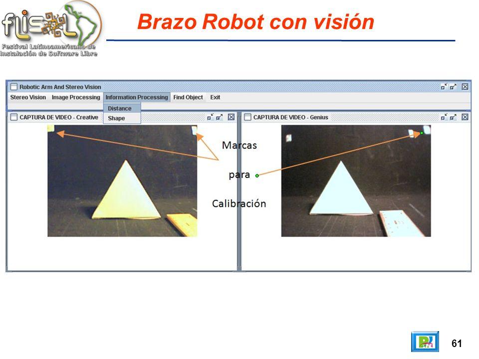 61 Brazo Robot con visión