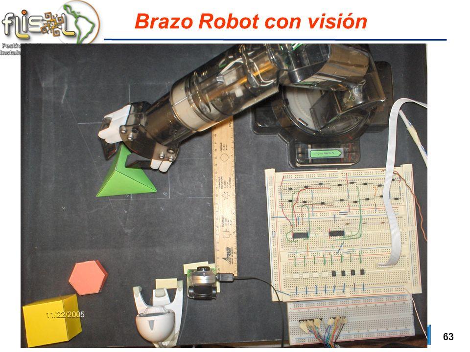 63 Brazo Robot con visión