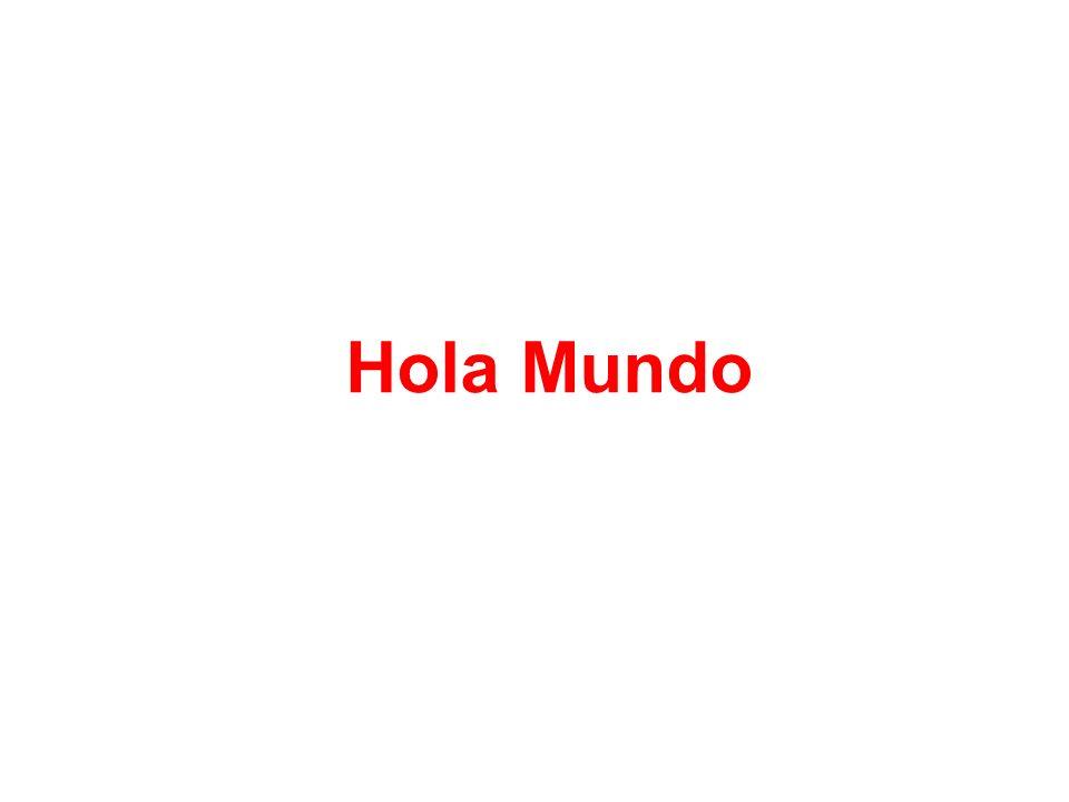 5 Hola Mundo!!! Hola Crayola!!!