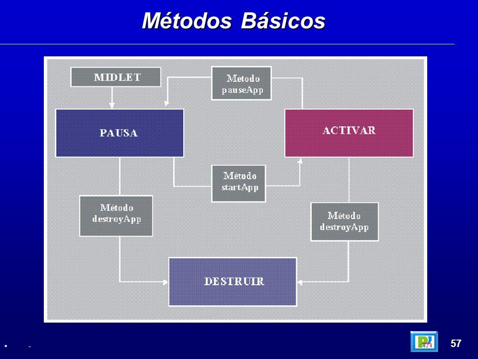 Métodos Básicos 57 -