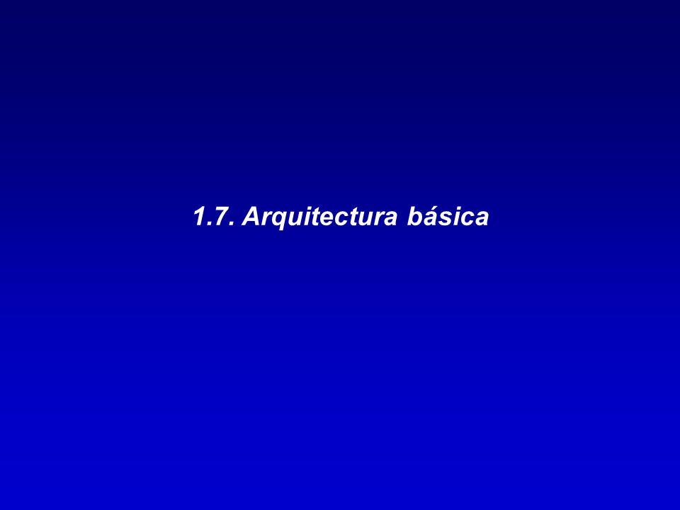 1.7. Arquitectura básica