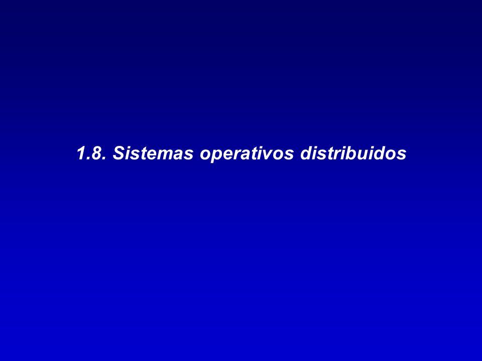 1.8. Sistemas operativos distribuidos