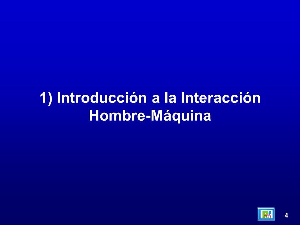4 1) Introducción a la Interacción Hombre-Máquina