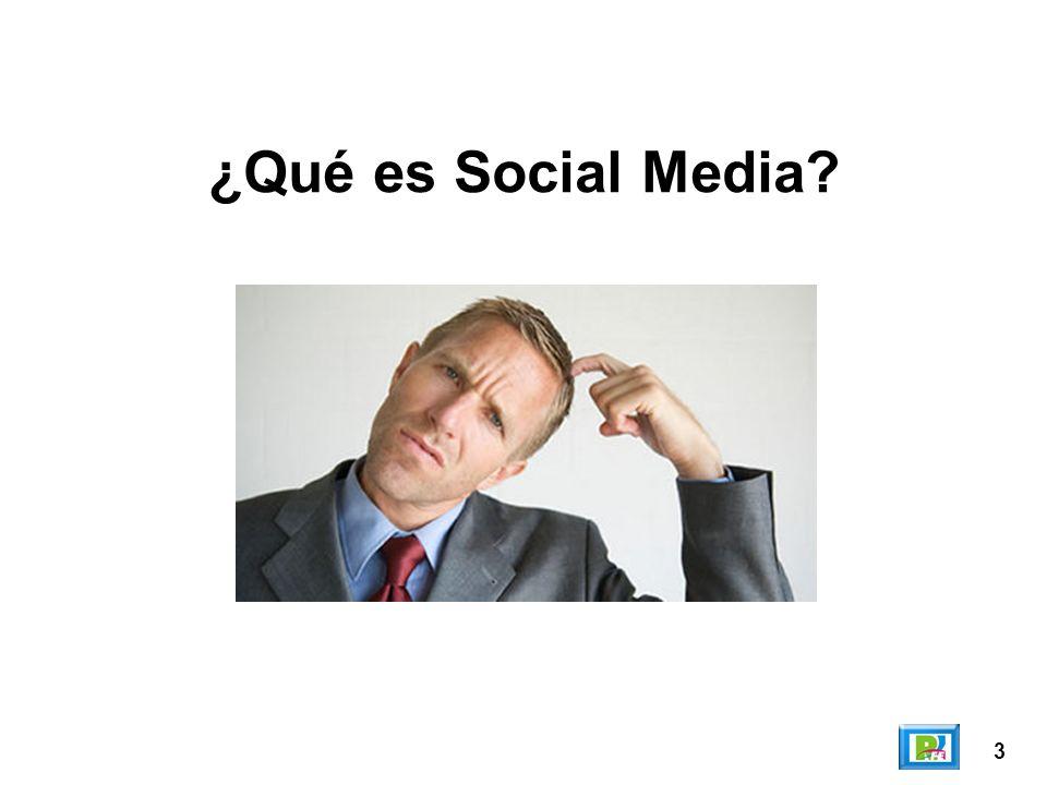 3 ¿Qué es Social Media