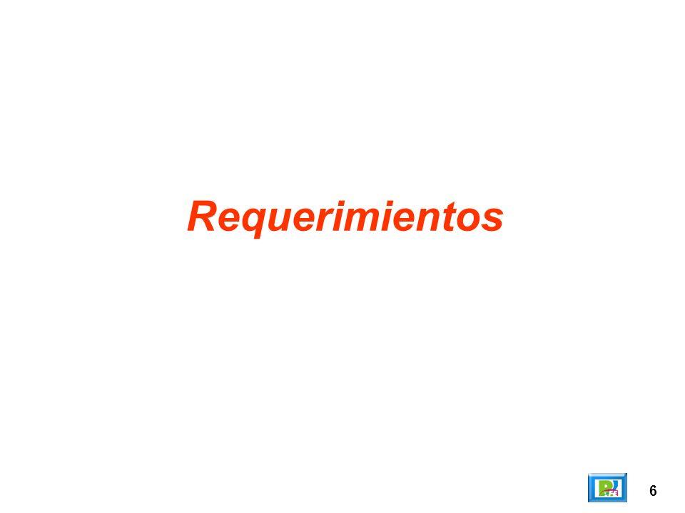 Requerimientos 6
