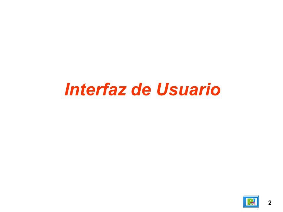 2 Interfaz de Usuario