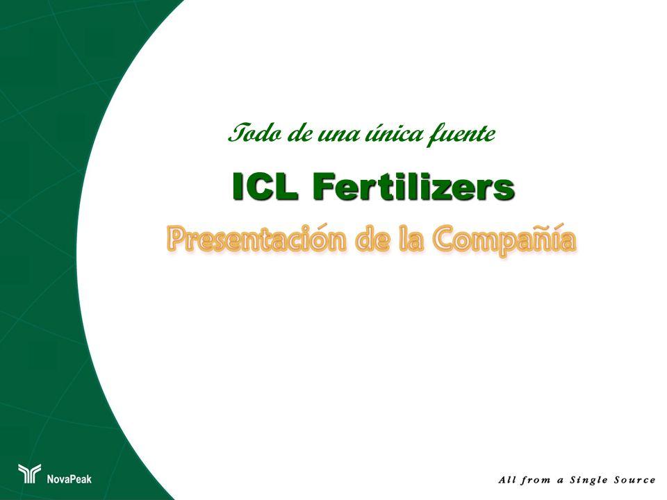Todo de una única fuente ICL Fertilizers