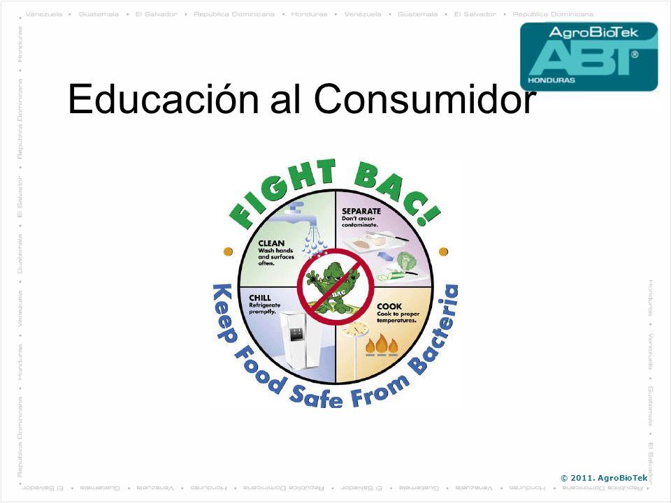 © 2011. AgroBioTek Educación al Consumidor