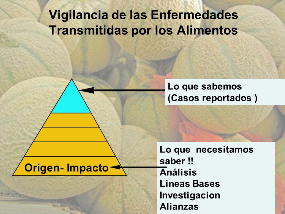© 2011. AgroBioTek Vigilancia de las Enfermedades Transmitidas por los Alimentos Lo que necesitamos saber !! Análisis Lineas Bases Investigacion Alian