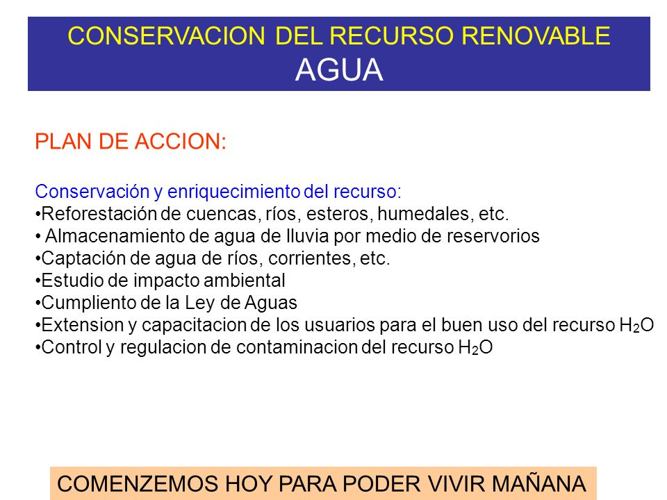 CICLO HIDROLOGICO (CICLO DEL AGUA) AGRICULTURA H2OH2O INGRESOS PRECIPITACION RIEGO ARTIFICIAL EGRESOS EVAPOTRANSPIRACION ESCORRENTIA