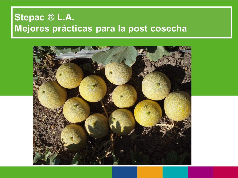 Stepac ® L.A. Mejores prácticas para la post cosecha