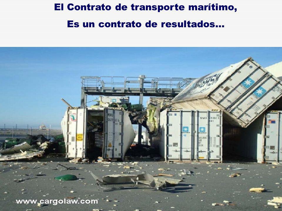 Deberes y Derechos en el Transporte Marítimo.DEFENSAS DE LAS NAVIERAS 6.