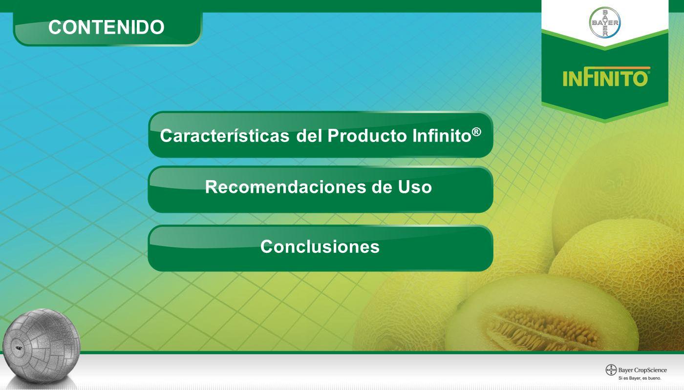 CONTENIDO Conclusiones Recomendaciones de Uso Características del Producto Infinito ®