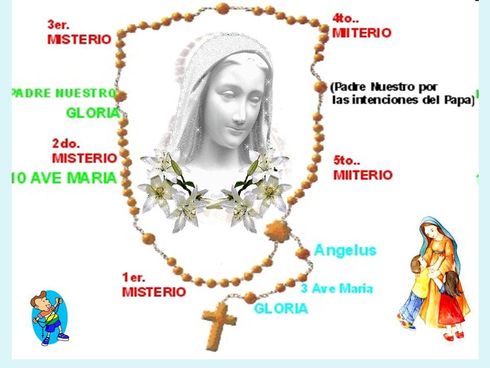 Ella espera tu respuesta de corazón, quiere oir : Sí, Yo Quiero Sí, Yo Quiero Dedica todos los días tiempo a rezar el Santo Rosario.