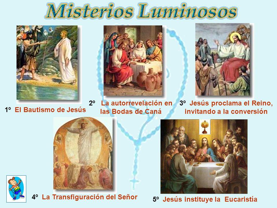 1º Jesús ora en el Huerto.