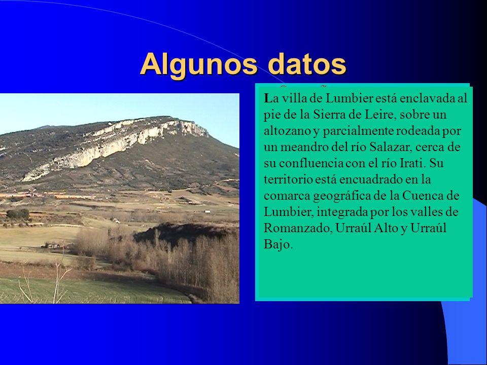 Lumbier Lumbier está emplazada estratégicamente en el centro de las Cuencas Prepirenaicas, verdadero corredor natural que une de este a oeste y de norte a sur los valles pirenaicos con la capital de Navarra.