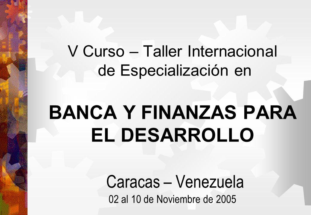 Módulo I La Banca de Desarrollo en América Latina