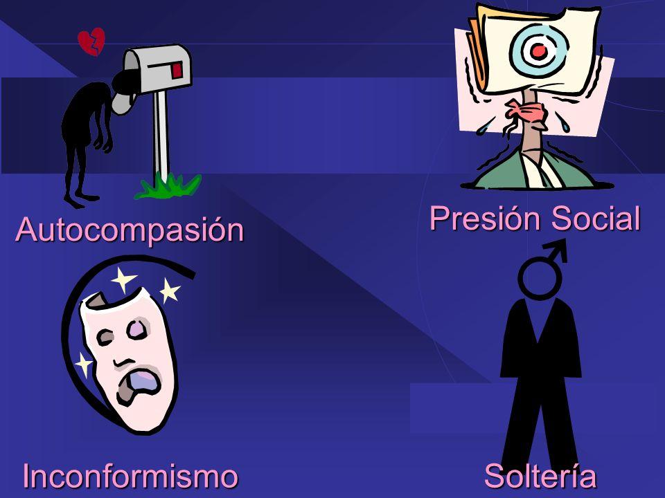 Autocompasión Inconformismo Presión Social Soltería