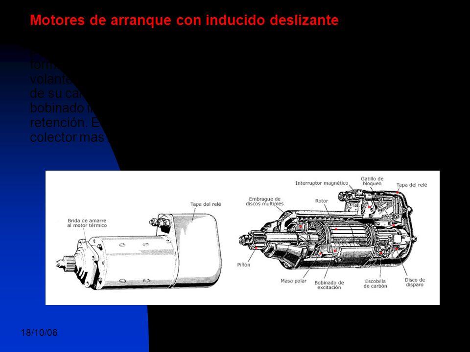 18/10/06 DuocUc, Ingenería Mecánica Automotriz y Autotrónica 21 Motores de arranque con inducido deslizante Estos motores diseñados por la casa Bosch,
