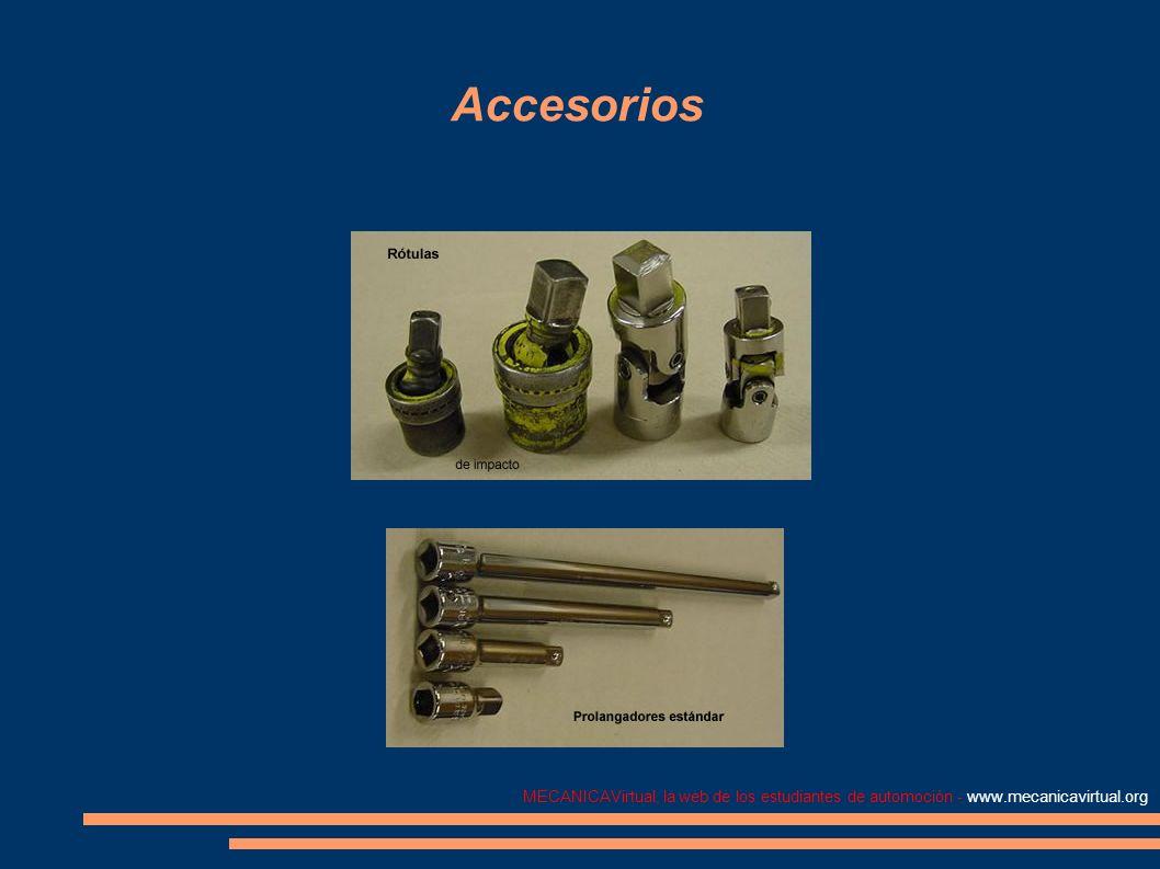 MECANICAVirtual, la web de los estudiantes de automoción - www.mecanicavirtual.org Accesorios