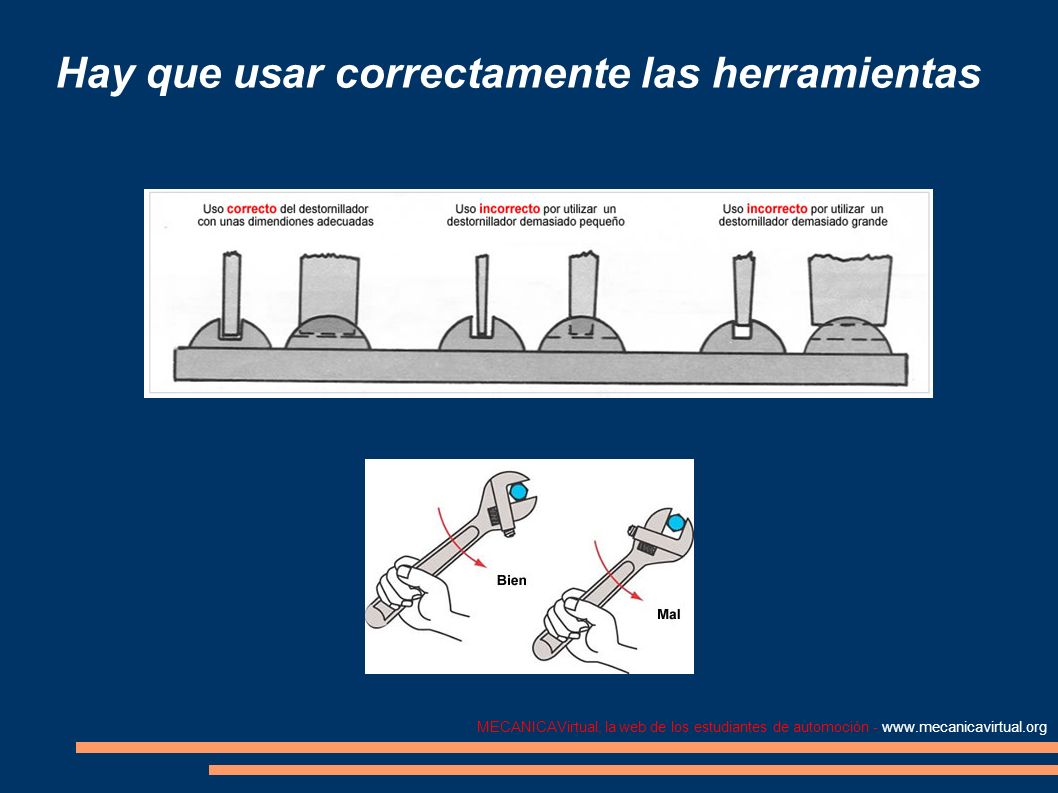 MECANICAVirtual, la web de los estudiantes de automoción - www.mecanicavirtual.org Extractores En el trabajo mecánico se emplean diversos tipos de extractores, cuyo tamaño varia según su uso.