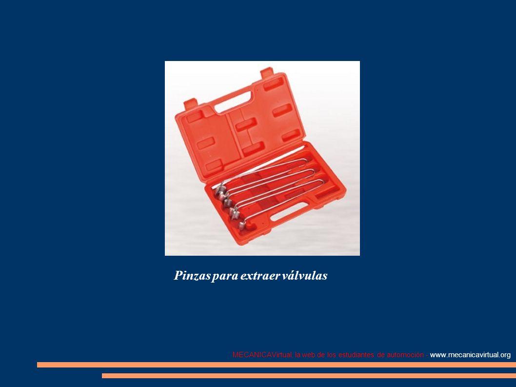 MECANICAVirtual, la web de los estudiantes de automoción - www.mecanicavirtual.org Pinzas para extraer válvulas