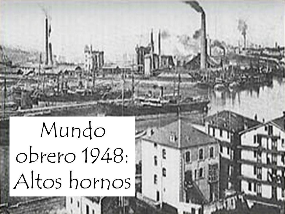 Padre Simón López Nacemos en Barakaldo, Vizcaya. En el año 1948 Revolución industrial Obreros inmigrantes