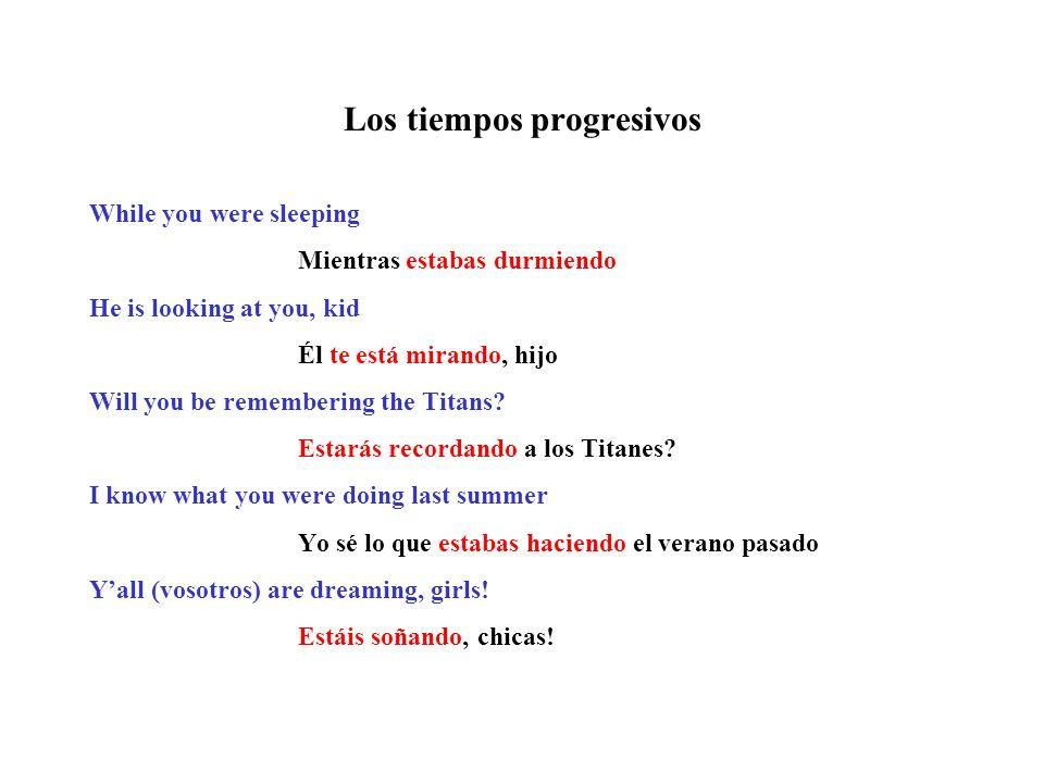 Los tiempos progresivos ¡Qué divertido! Copyright © by Lynn Fernandez. All rights reserved.